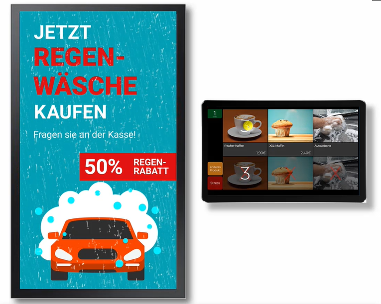 Digital Signage mit Active Selling