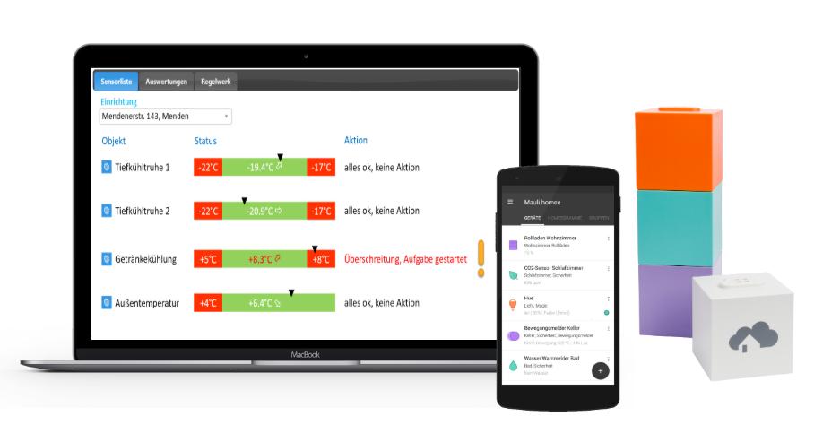 Sensorik App und Desktop Statistik